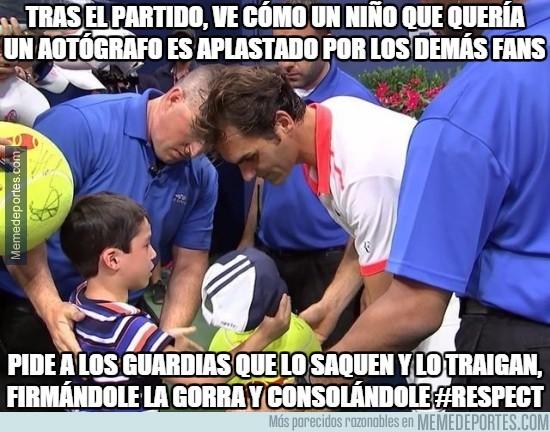 685451 - Federer siempre será un grande