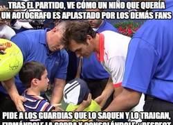 Enlace a Federer siempre será un grande
