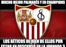 Enlace a ¿Alguien entiende por qué los del Betis se ríen del Sevilla?