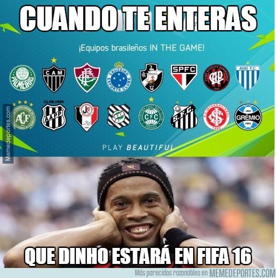 685692 - ¡Al final veremos a Ronaldinho en el FIFA!