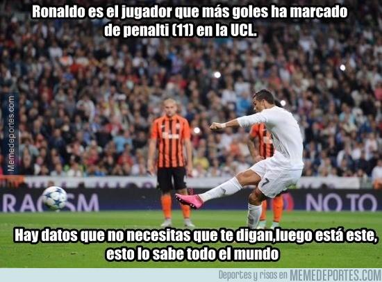 687235 - Cristiano Ronaldo el jugador con más penaltis... no me lo esperaba en absoluto