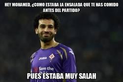 Enlace a Salah no ha comido muy bien