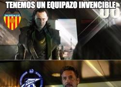 Enlace a El Valencia no puede contra Hulk