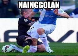 Enlace a Ojo con Nainggolan