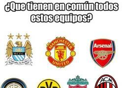 Enlace a ¿Qué tienen en común todos estos equipos?