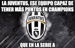 Enlace a La Juventus, con más puntos en Champions que en Serie A