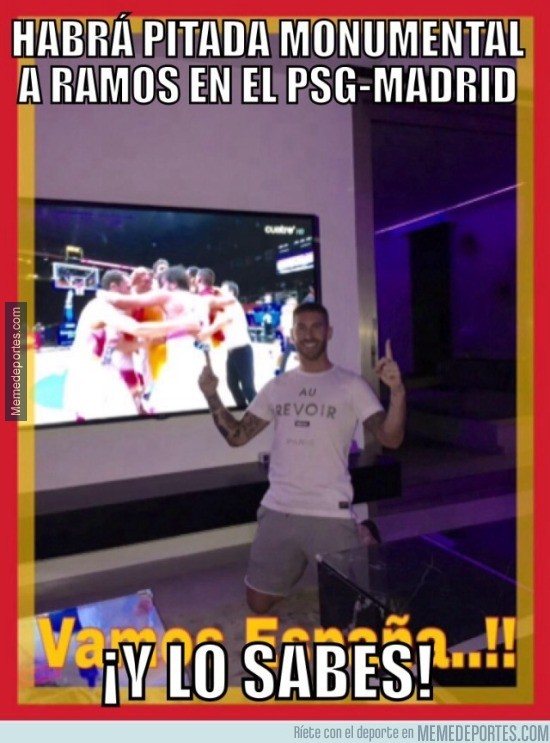 689097 - Ramos haciendo un Ramos