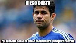 Enlace a Diego Costa siempre metido en líos