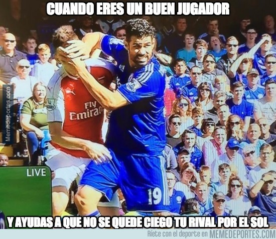 689858 - El Diego Costa que mira por la salud de los jugadores
