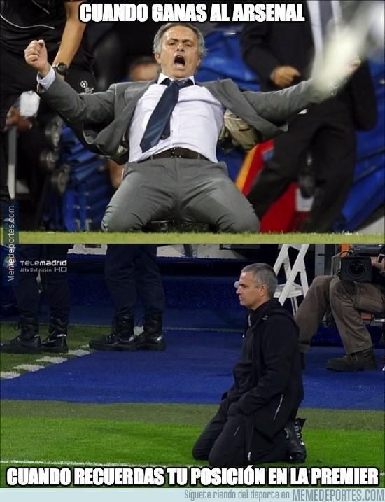 689952 - Mourinho, yo no reiría tanto, sólo es una victoria