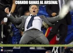 Enlace a Mourinho, yo no reiría tanto, sólo es una victoria
