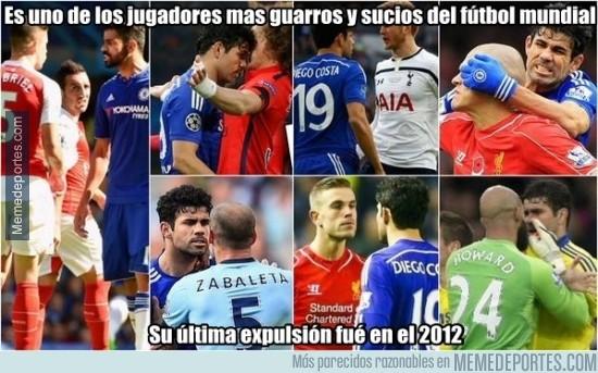 689973 - Diego Costa es invisible para los árbitros