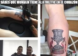 Enlace a El nuevo tatuaje de Muniaín
