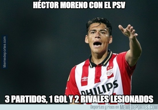 690703 - Héctor Moreno Unchained
