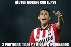 Enlace a Héctor Moreno Unchained