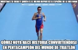 Enlace a Hablad hablad, que mientras tanto Gómez Noya está haciendo historia