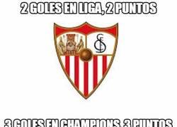 Enlace a El Sevilla va a punto por gol esta temporada