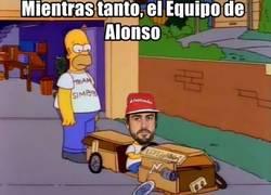 Enlace a El equipo de Alonso