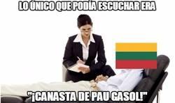 Enlace a Pau Gasol es una pesadilla para todos