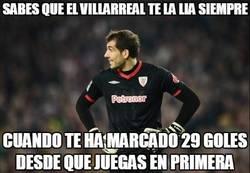 Enlace a Iraizoz, la víctima preferida del Villarreal