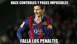 Enlace a El extraño caso de Messi