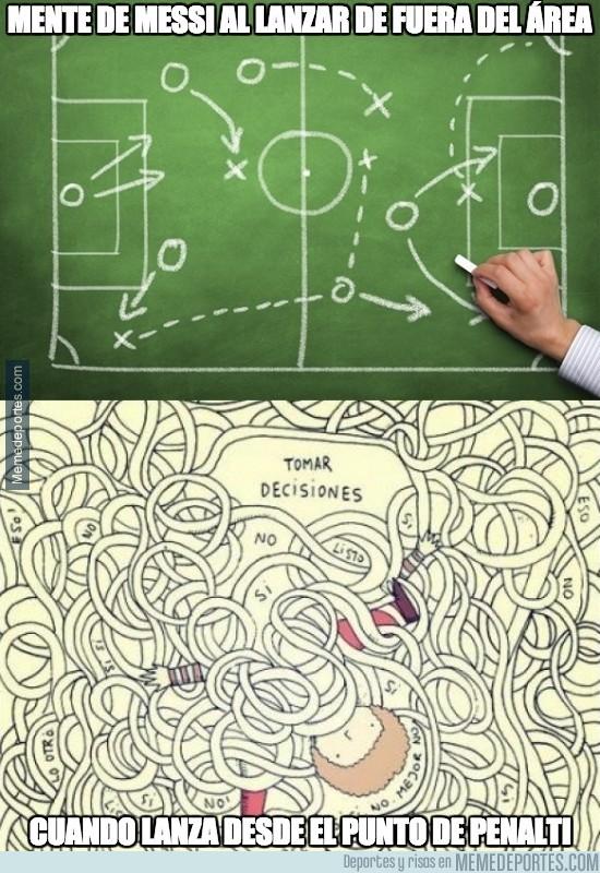 692566 - Messi en penaltis vs Messi en tiros de fuera del área