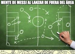 Enlace a Messi en penaltis vs Messi en tiros de fuera del área