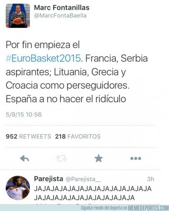 692637 - Eurobasket 2015: donde empezó todo... Roncero, tienes competencia