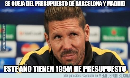 692652 - Se queja del presupuesto de Barcelona y Madrid
