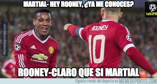 692753 - A día de hoy, Rooney ya debe conocer a Martial