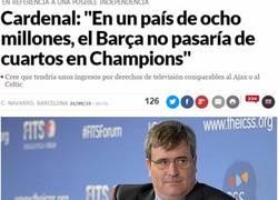 Enlace a Los políticos no deberían meterse en el deporte...
