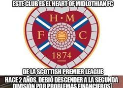 Enlace a La gran historia del Heart of Midlothian FC