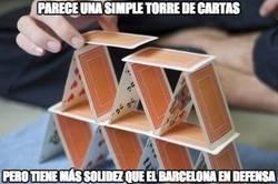 Enlace a La defensa del Barça