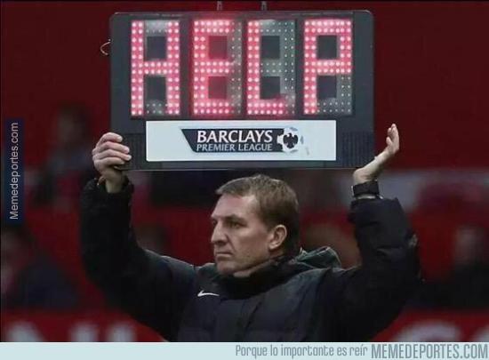695607 - Brendan Rodgers ya no sabe qué hacer con el Liverpool