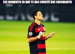 Enlace a Este dato de Chicharito no me sorprende en absoluto