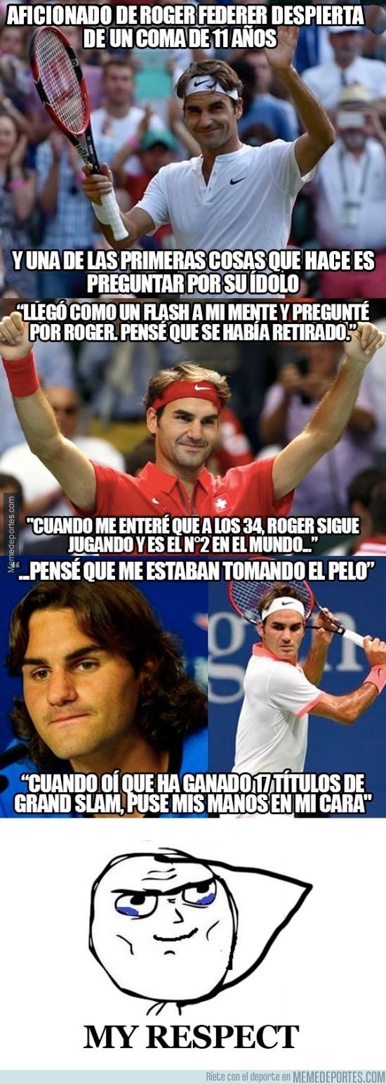 695777 - Increíble historia de un fan de Federer