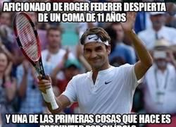 Enlace a Increíble historia de un fan de Federer