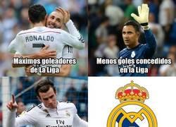 Enlace a El Real Madrid arrasando en la Liga