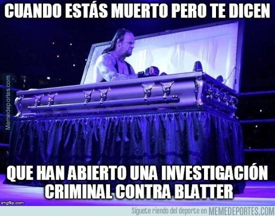696353 - Como Blatter vaya a la cárcel...
