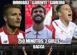Enlace a Al Sevilla le vendrían bien esos goles