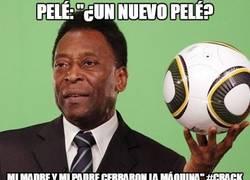 Enlace a Pelé el humilde