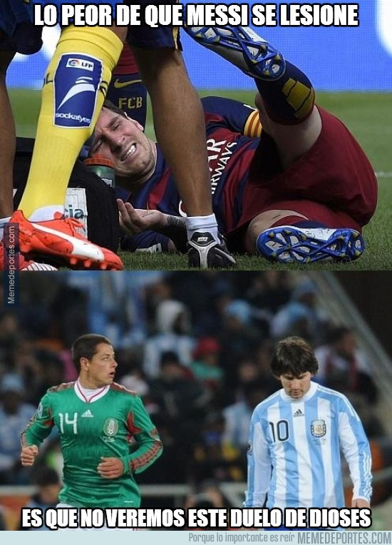 697366 - Lo peor de que Messi se lesione