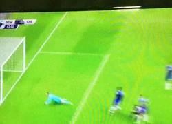 Enlace a GIF: El GOLAZO de Ayoze Perez que le está dando la victoria al Newcastle frente al Chelsea