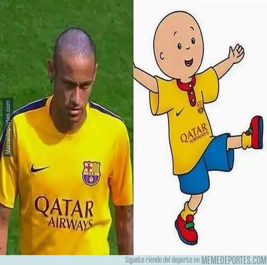 697849 - Caillou y Neymar, separados al nacer