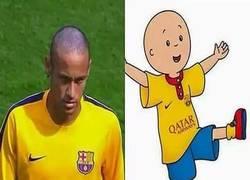 Enlace a Caillou y Neymar, separados al nacer