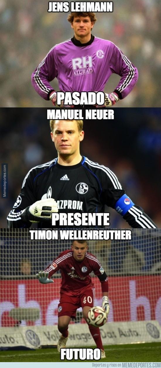 698393 - La porteria de Alemania, protegida por la cantera del Schalke.
