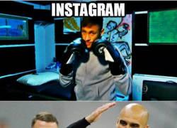 Enlace a Las redes sociales. Versión Neymar