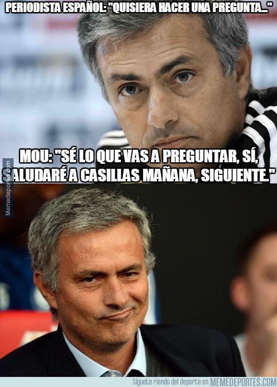 698991 - La respuesta de José Mourinho a un periodista