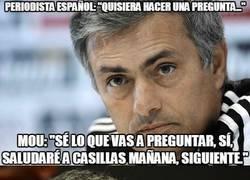 Enlace a La respuesta de José Mourinho a un periodista