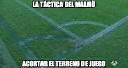 Enlace a El Malmö ya ha empezado el partido, para que el Madrid centralice su juego y no explote las bandas